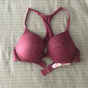 PINK Victoria's Secret Push-up Bra Size 34B